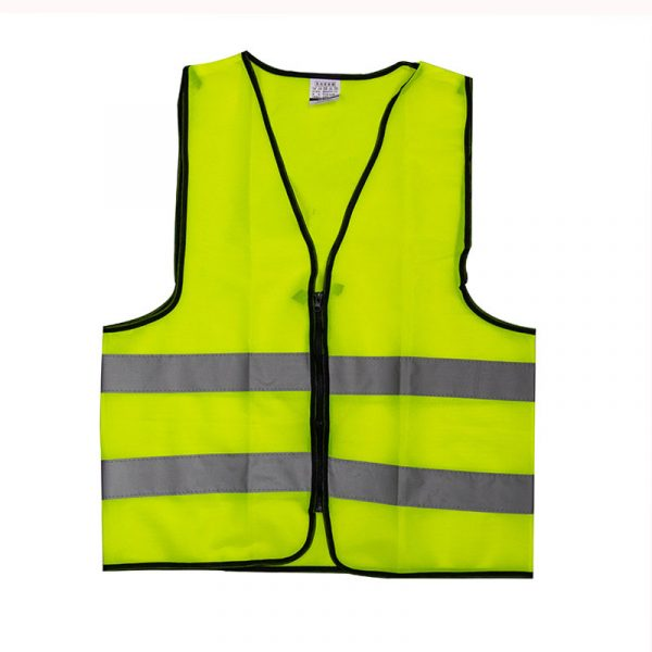 Customizable Zipper Reflective Vest (1)