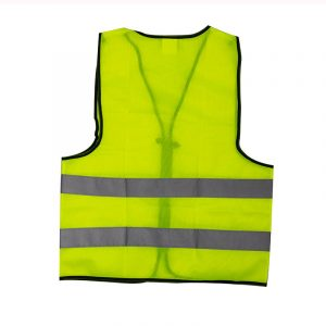 Customizable Zipper Reflective Vest (2)