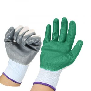 Ding Qing breathable thick latex gloves (2)