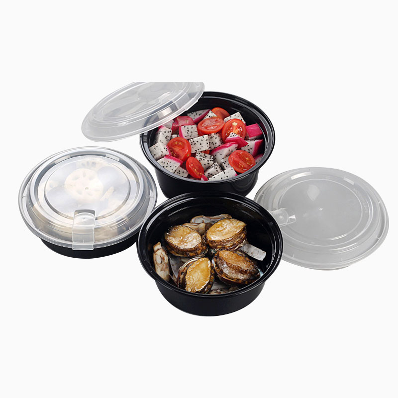 Disposable Buckle Plastic Packing Box (2)