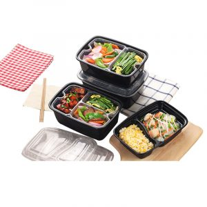 Disposable Double-Layer Multi-Layer Liner Snack Box (4)