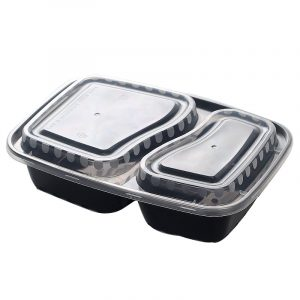 Disposable Double-Layer Multi-Layer Liner Snack Box (6)