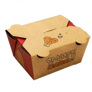 Disposable Korean Fried Chicken Packing Box (1)