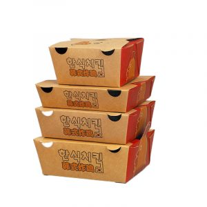 Disposable Korean Fried Chicken Packing Box (3)