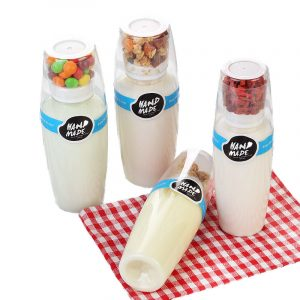 Disposable PET Milk Juice Bottle (1)