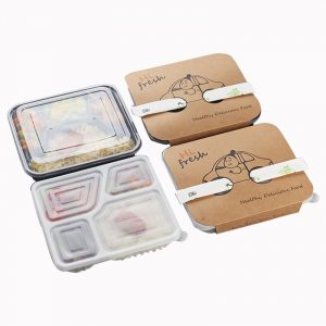 Disposable Plastic Four-Package Box (5)