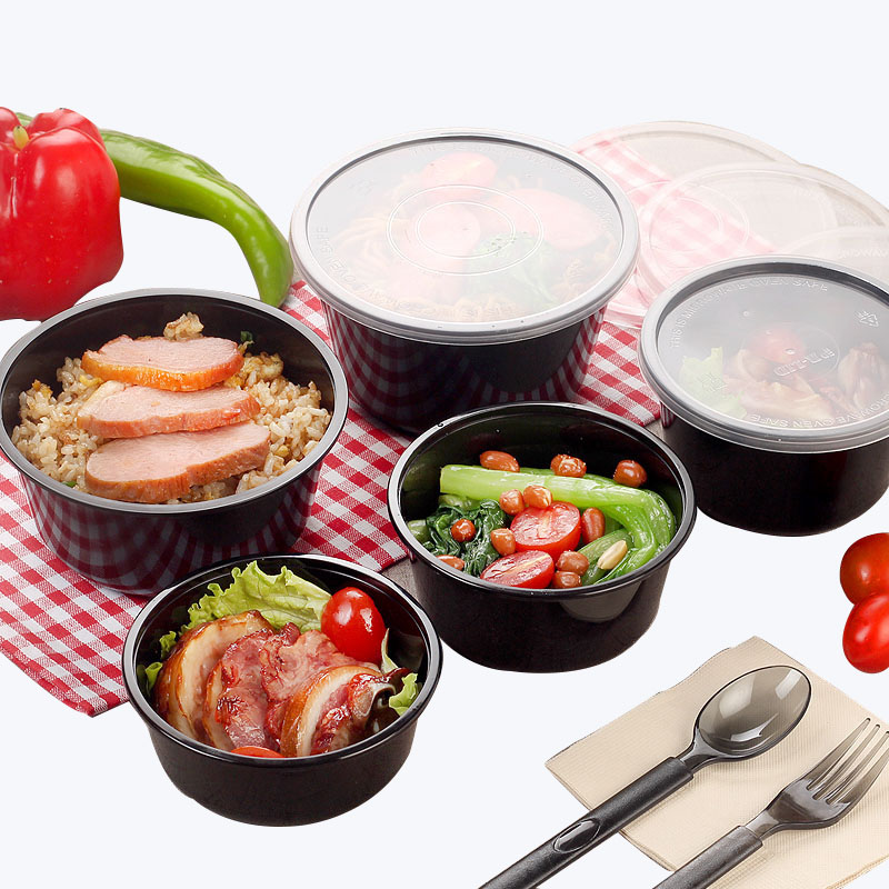 Disposable Plastic Packaging Box With Lid (7)