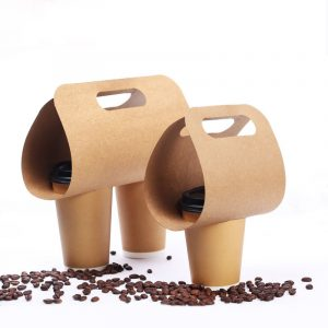 Disposable Portable Single - Double Cup Holder (1)