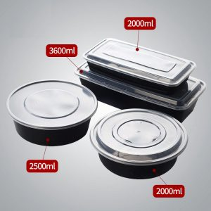 Disposable Round Rectangular Oversized Takeout Packing Box (4)