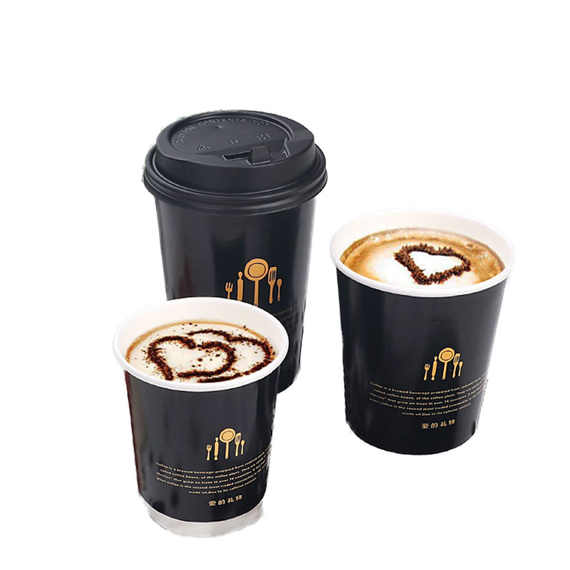 Disposable Thick Double-Layer Paper Cup (7)