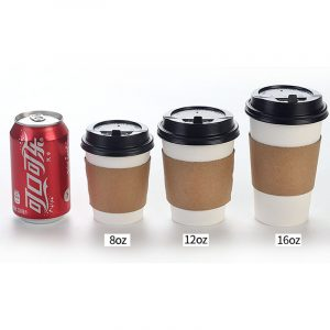 Disposable coffee paper cup set (6)