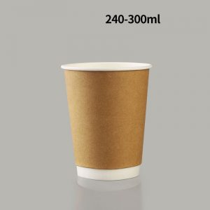 Disposable hollow thickened coffee paper cups (1)