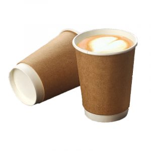 Disposable hollow thickened coffee paper cups (8)