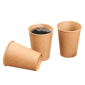 Disposable kraft coffee cup (6)