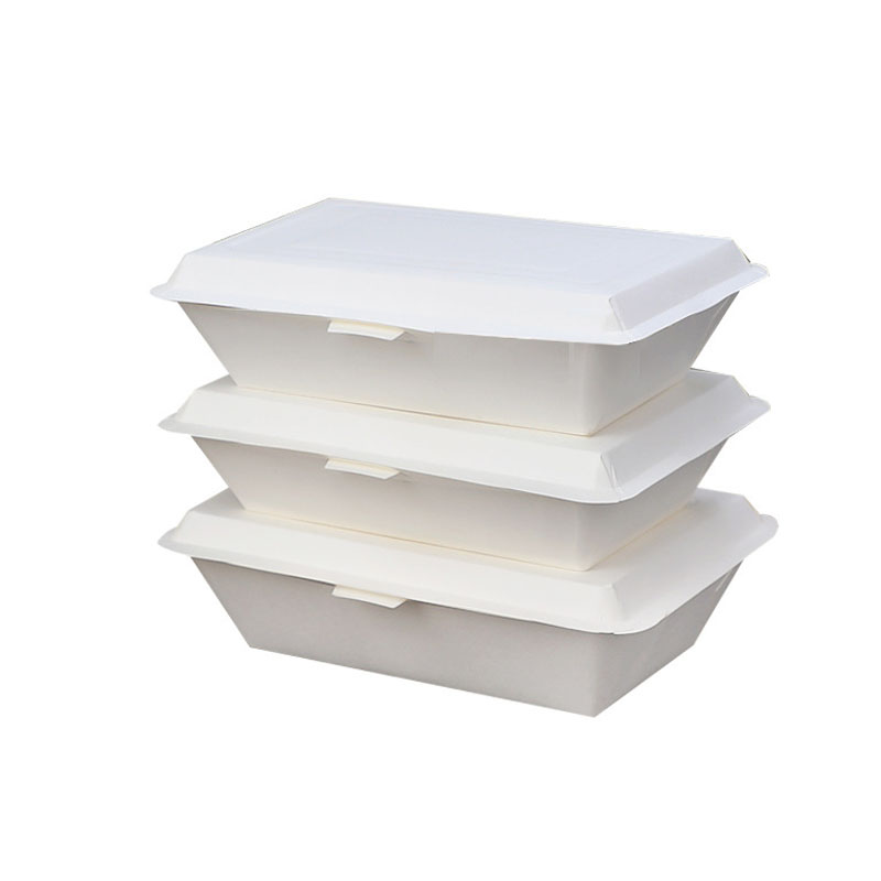 Disposable paper rice box2