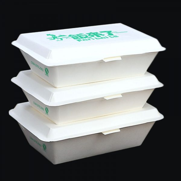 Disposable paper rice box3