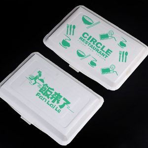 Disposable paper rice box8