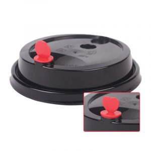 Disposable plastic cup lid 12oz switch cover (1)