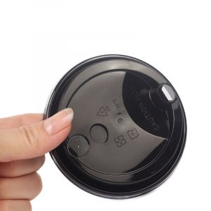 Disposable plastic cup lid 12oz switch cover (6)
