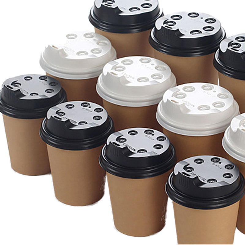 Disposable plastic direct drinking cup lid (8)