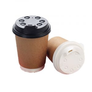 Disposable plastic direct drinking cup lid (9)