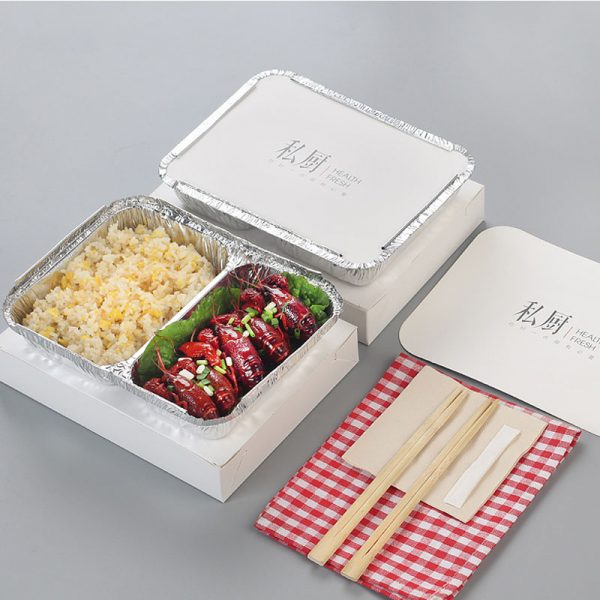 Disposable printing tin foil compartment (1)