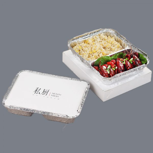 Disposable printing tin foil compartment (4)