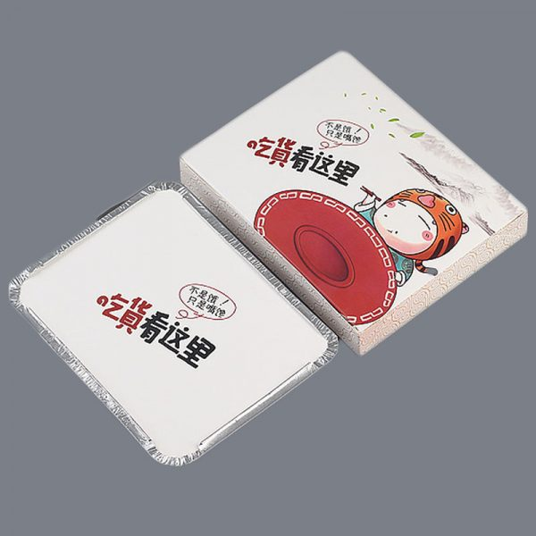 Disposable printing tin foil compartment (5)