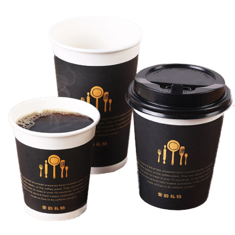 Disposable thickened coffee cup (5)