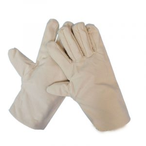 Double canvas electric welding gloves (2)