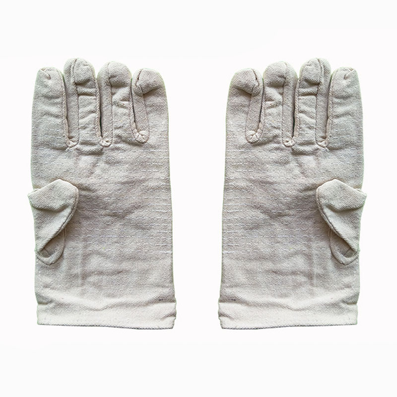 Double canvas protective gloves (1)