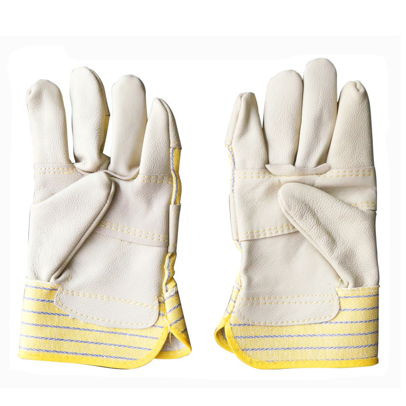 First layer cowhide anti-scalding welding gloves (2)