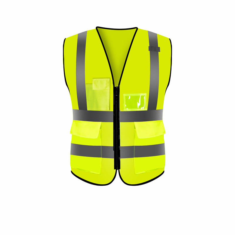 Fluorescent Breathable Reflective Vest