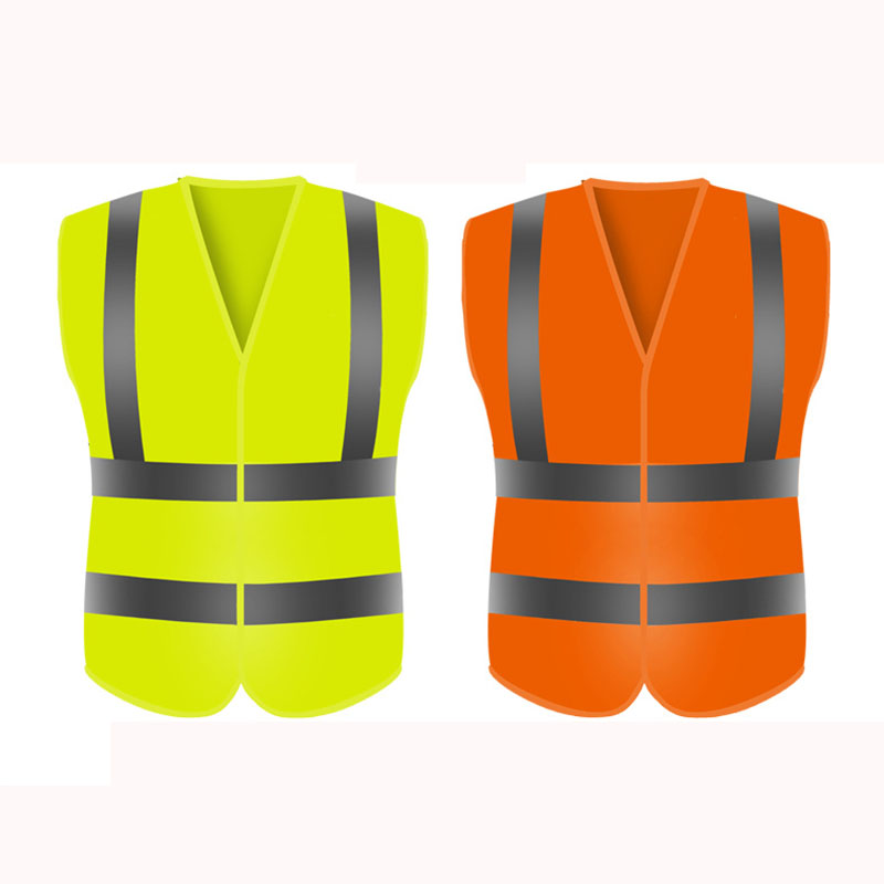 Fluorescent Yellow Reflective Vest (1)