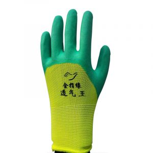 Foam dip protective gloves (2)