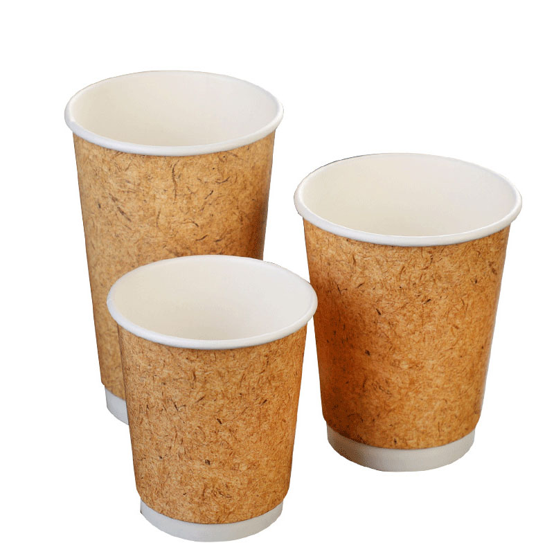 Leather pattern double cup (1)
