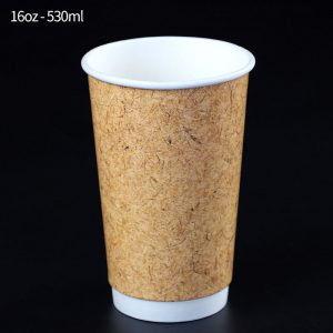 Leather pattern double cup (3)
