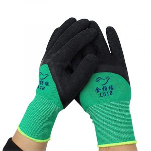 Non-slip wear-resistant nylon wrinkle gloves (2)