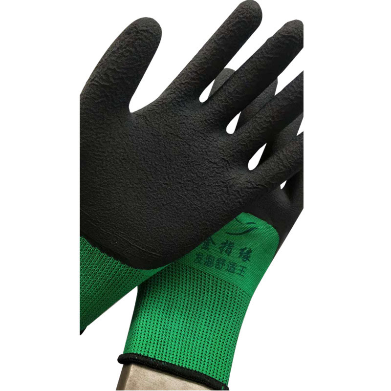 Nylon dipped industrial gloves (2)