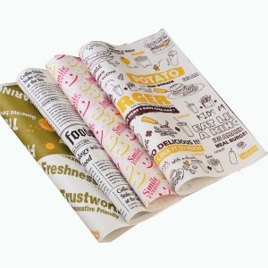 One-Time Burger Greaseproof Paper (10)