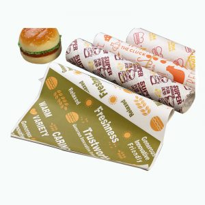 One-Time Burger Greaseproof Paper (9)