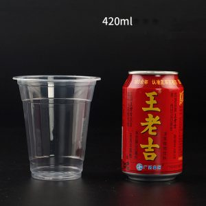PP Disposable Transparent Plastic Cup (10)