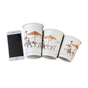 Printing disposable double-layer paper cups (6)