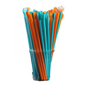Separately Packed With Colorful Spoon Straws (1)