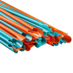 Separately Packed With Colorful Spoon Straws (6)