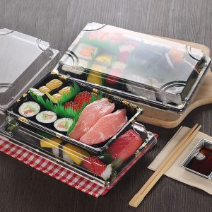Sushi plastic packing box (2)