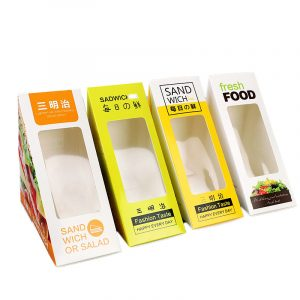 Transparent window sandwich packaging box (5)