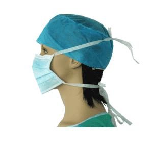 Disposable Non woven Tie On Face Masks