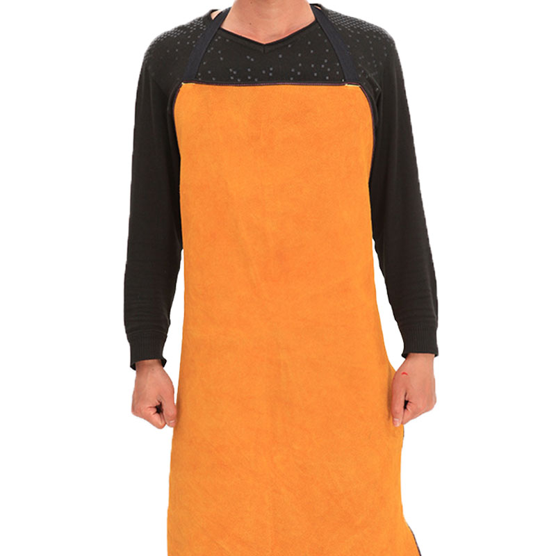 7090 Full Leather Cowhide Apron (2)