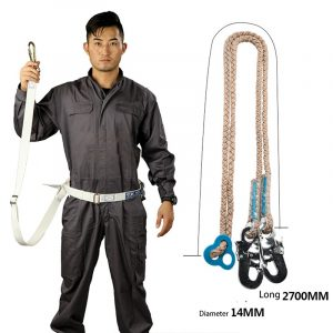 Aerial work fall protection safety rope (1)